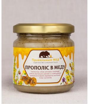 Прополис в меду фото