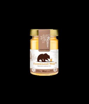 Різнотрав'я червня (квітковий) ТМ Правильний мед с/б 400г