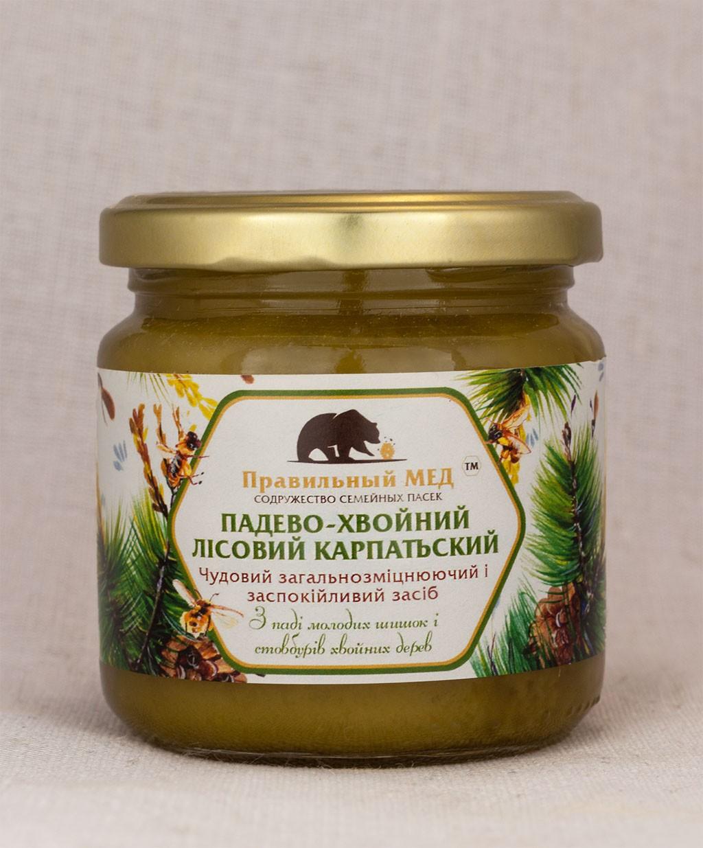 Мёд падево-хвойный (Лесной Карпатский)