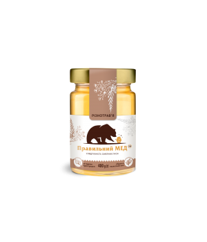 Мёд цветочный (Разнотравье июня) фото