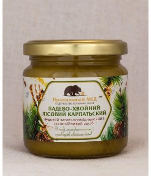 падево-хвойный мед лесной карпатский фото
